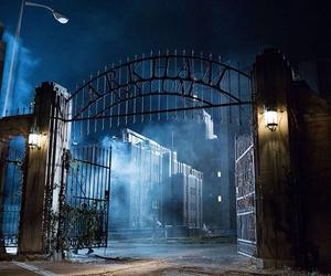 Arkham Asylum, Gotham, and batman image