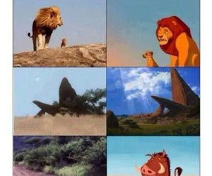 funny, lion king, and cute image