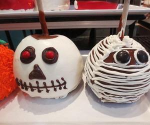 apple and Halloween image
