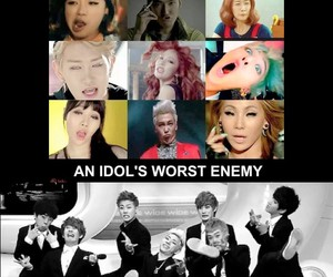 kpop, block b, and meme image