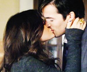 love, ezra, and kiss image