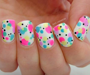 nails, cute, and cool image