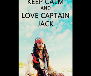 keep calm, jack sparrow, and johnny depp image