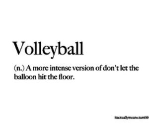 volleyball, fun, and life image