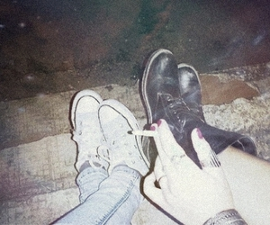 alternative, boots, and cigarette image