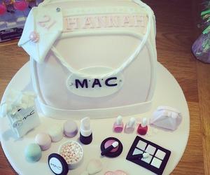 mac, cake, and makeup image