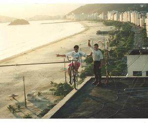 beach, bike, and brazil image