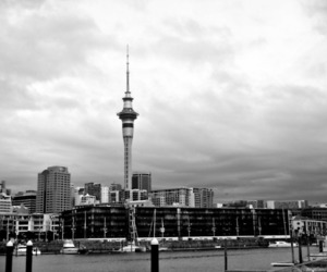 auckland, city, and clouds image