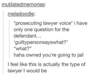 funny, humor, and lawyer image
