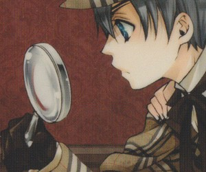 anime, black butler, and detective image