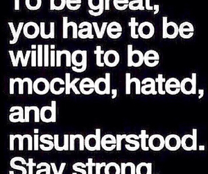 misunderstood, hated, and quote image