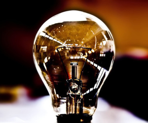 photography and ligth bulb image