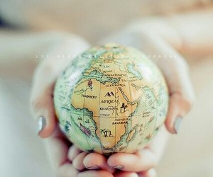 world, photography, and globe image
