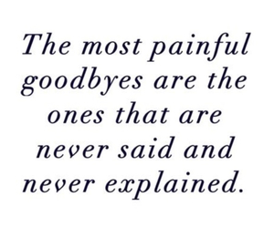 goodbye, quotes, and painful image