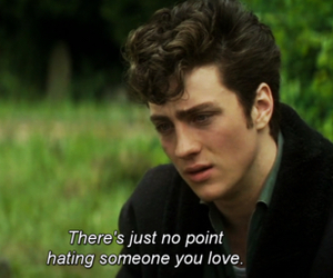 love, aaron johnson, and hate image