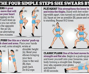 workout, diy, and exercise image