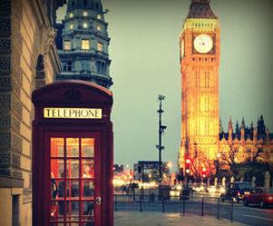 Big Ben, lights, and travel image
