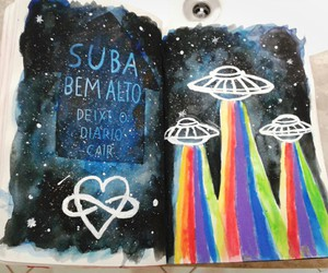 alien, art, and diy image