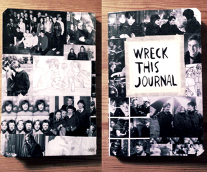 black and white, book, and creative image