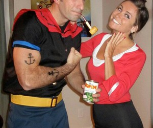 costumes, couples costumes, and couples image