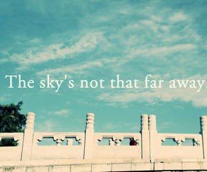 sky and quotes image