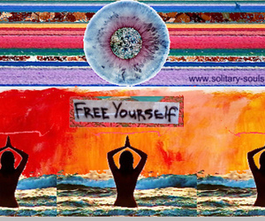 free, yoga, and free yourself image