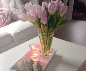classy, flowers, and pink image