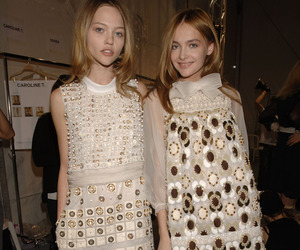 fashion, Snejana Onopka, and Sasha Pivovarova image