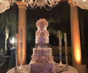 cake, party, and bride image