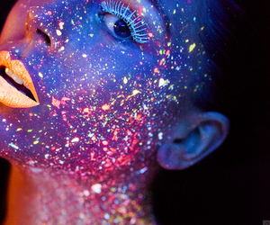 neon and glitter image