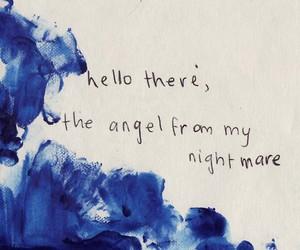blink 182, i miss you, and Lyrics image