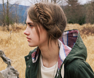 girl, fashion, and braid image