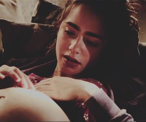love rosie, lily collins, and pregnant image