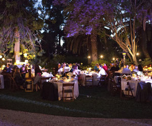 night, party, and reception image