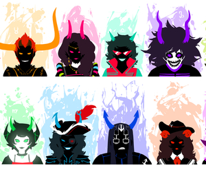 ancestors and homestuck image