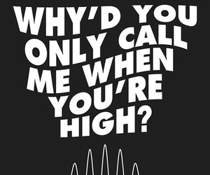 arctic monkeys, music, and high image