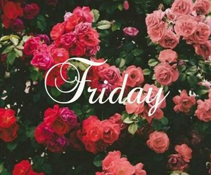 flowers, friday, and day image