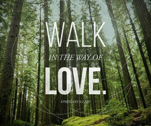 bible, walk in love, and ephesians image
