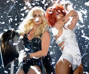 rihanna and britney spears image