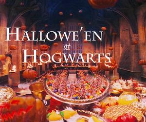 Halloween, harry potter, and hogwarts image
