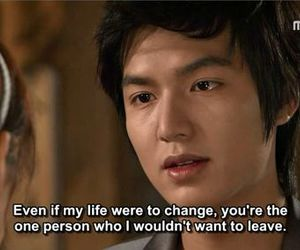 lee min ho, life, and quotes image