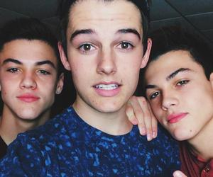 kenny holland, grayson dolan, and ethan dolan image