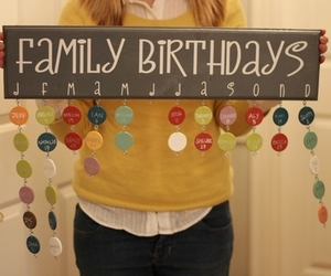 birthday, crafts, and family image