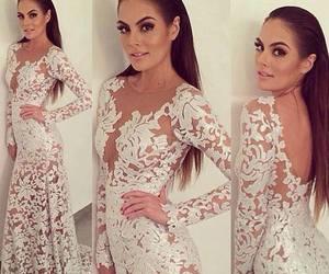 dress, beautiful, and luxury image