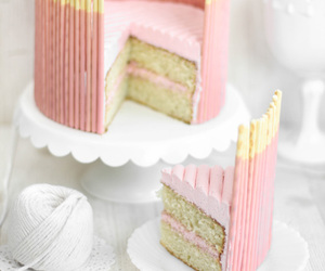 cake, pink, and pocky image