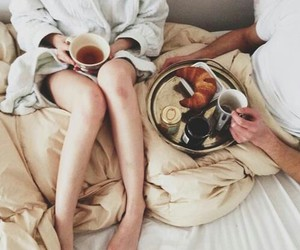 breakfast, inspiration, and couple image