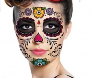 costume, Halloween, and day of the dead image