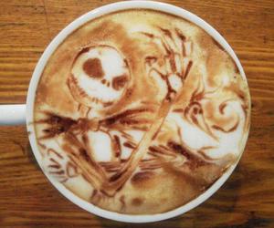coffee, Halloween, and art image