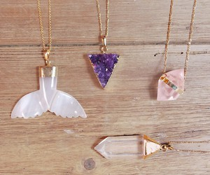amethyst, etsy.com, and gold image