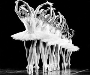 dance, smile, and Swan image